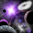 Planets in space — Stock Photo #43958411