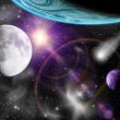 Planets in space — Stock Photo #43958443