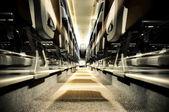 Inne i bussen — Stockfoto