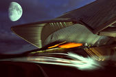 Station Guillemins, Liege, Belgium, night view — Stock Photo