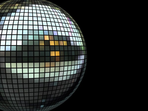 Disco mirrorball — Stock Photo #2600856