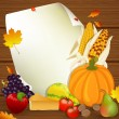 Thanksgiving Background — Stock Vector #14551405