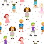 Seamless Kids Pattern — Stock Vector #14551687