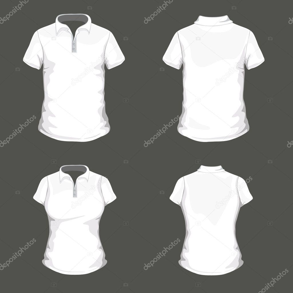 polo shirt design template stock vector ramonakaulitzki 14550745. Black Bedroom Furniture Sets. Home Design Ideas