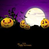 Vector Halloween Design — Stock Vector