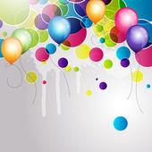 Colorful balloons — Vecteur