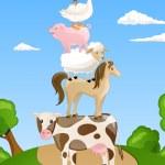 Farm Animals — Stock Vector #15761425
