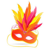 Venetian Mask — Stockvector