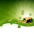 Royalty-Free Stock Vector Image: St Patrick\'s Day Background