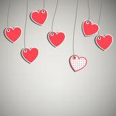 Corações do dia dos namorados — Vetorial Stock