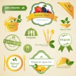 Food Labels and Elements — Stock Vector #21352467