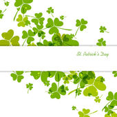 St. Patrick's Day Background — Stok Vektör