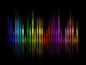 Muziek equalizer — Stockvector