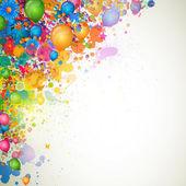 Diseño colorido — Vector de stock