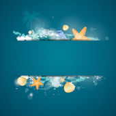 Marine life — Stock Vector