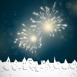 Colorful Firework — Stock Vector