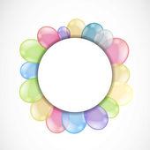 彩色气球 — 图库矢量图片