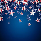 4th july background — Stock Vector