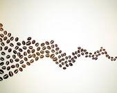 Coffee beans — Cтоковый вектор