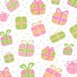 Красочные подарочные коробки — Cтоковый вектор