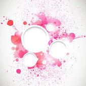 Colorful graphic design — Vecteur