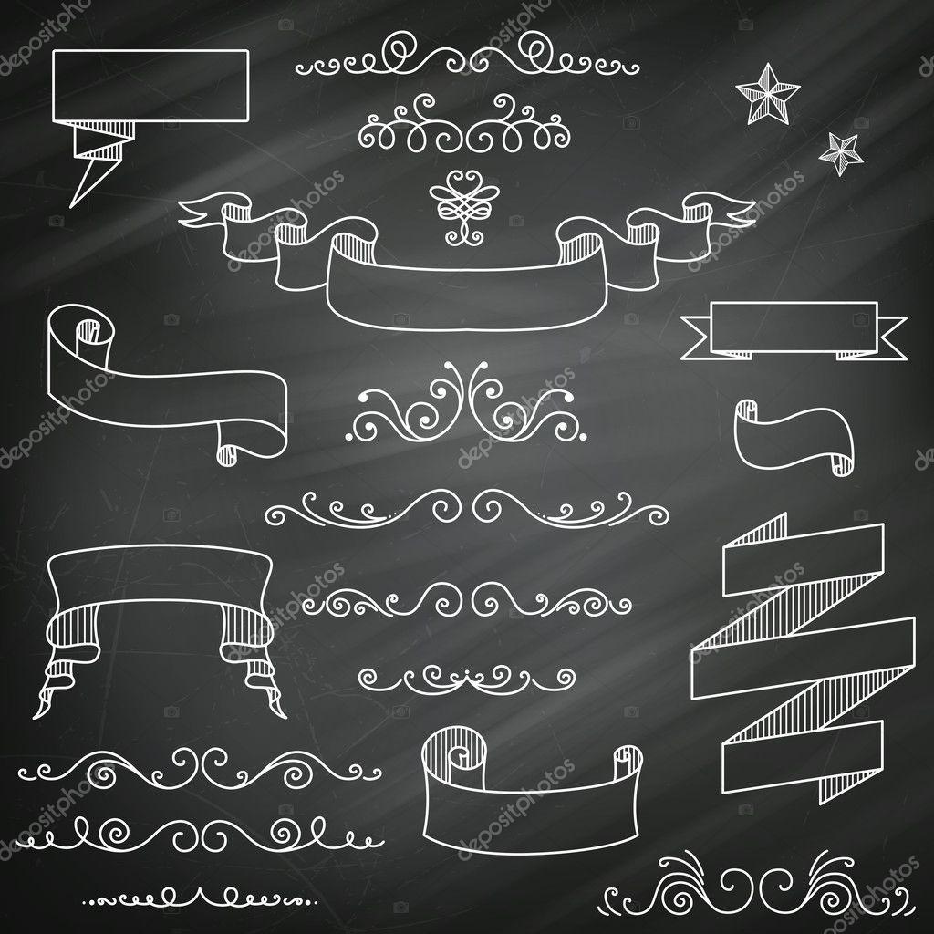 Blackboard Wedding Invitations with adorable invitation design