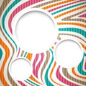 Colorful graphic design — Stock Vector