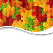 Autumnal leaves — Vecteur