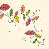 Sonbahar tasarım — Stok Vektör