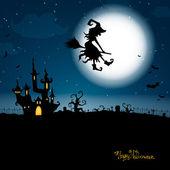 Poster di halloween — Vettoriale Stock