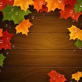 Autumnal design — Vector de stock