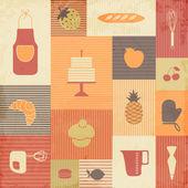 кухонные инструменты — Cтоковый вектор