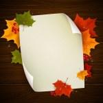 Autumnal design — Stock Vector #29793773