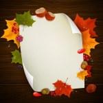 Autumnal design — Stock Vector #29793787