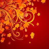 Podzimní design — Stock vektor