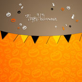 Halloween card — Vector de stock