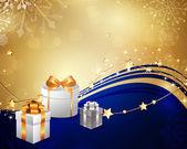 Weihnachtskarte — Stockvektor