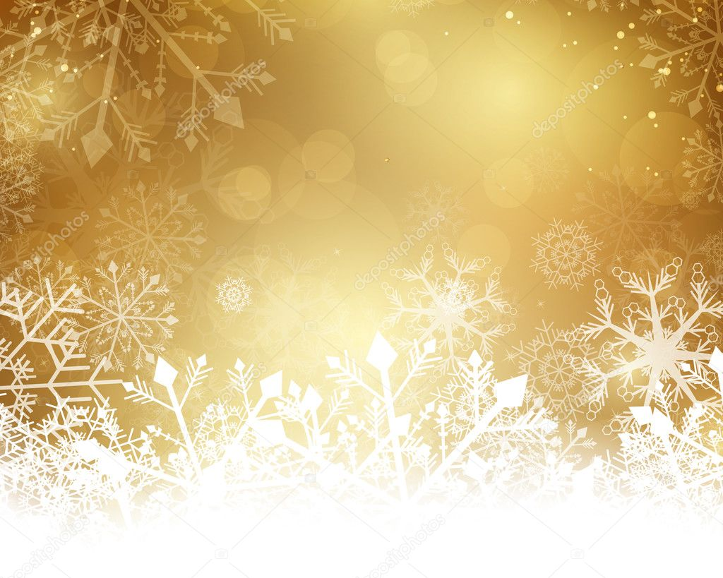 christmas gold background golden - photo #49