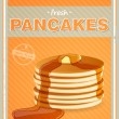 Pancakes — Stock Vector