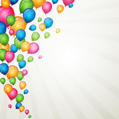 Colorful balloons — Stock vektor