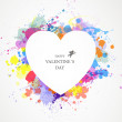 Vettoriale Stock : Valentines Day Card