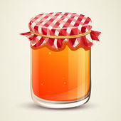 Homemade Jam — Stock Vector