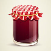 Homemade Jam — Stock Vector