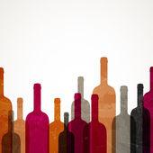 抽象酒背景 — 图库矢量图片