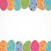 пасхальные яйца — Cтоковый вектор