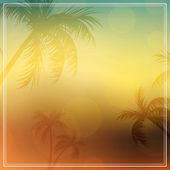 Sunset Background — Stock Vector