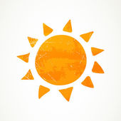 Summer Sun — Stock Vector