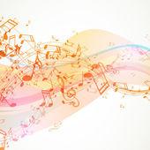 Fundo de música — Vetorial Stock