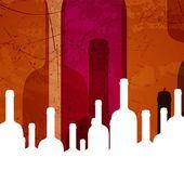 Vector Wine Background — Stock Vector