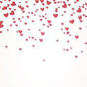 Vector Background with Hearts — Stock Vector
